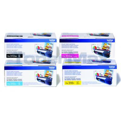 BROTHER HL-4150CDN TONER BUNDLE PACK (BLACK, CYAN, MAGENTA, YELLOW)
